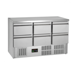 Tefcold GS365ST-I / 6 Drawers
